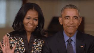 Michelle et Barack Obama annoncent le lancement de la fondation Obama, dans une vidéo diffusée sur YouTube, le 20 janvier 2017. (OBAMA.ORG)