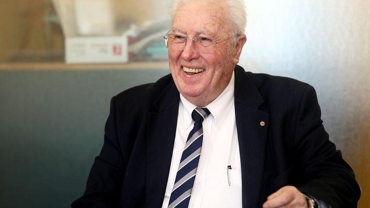 Jean-Mathieu Michel, maire de Signes, a été tué le 5 août 2019. (VALERIE LE PARC / MAXPPP)