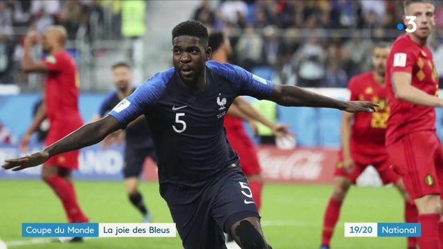 Coupe du monde : la joie des Bleus