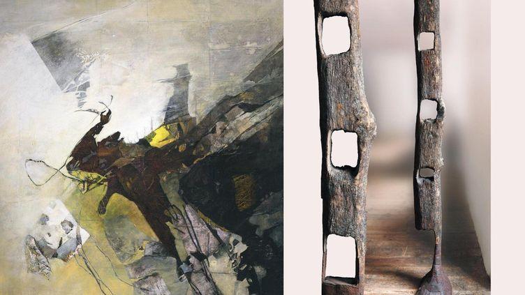 """La Minoterie Nayart·15 septembre·Modifié·""""Les mystères de la matière""""27 septembre - 24 novembre 2019Raoul Colin - Jean Durello (La Minoterie Nayart·)"""
