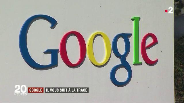 Données personnelles : Google vous suit à la trace