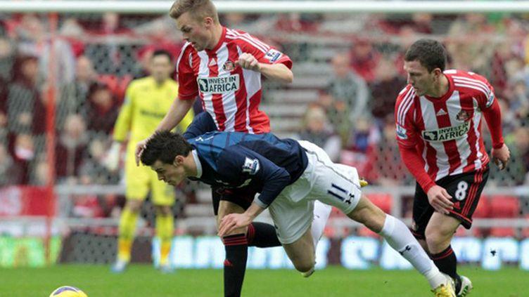 Bale chute au contact de Gardner et Larsson sous les yeux de Lloris, en arrière plan
