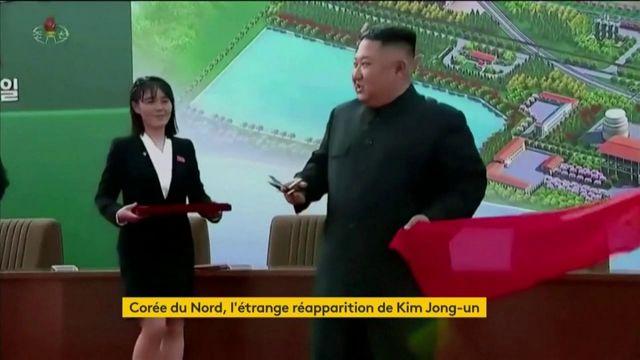 Corée du Nord : l'étrange réapparition de Kim Jong-un