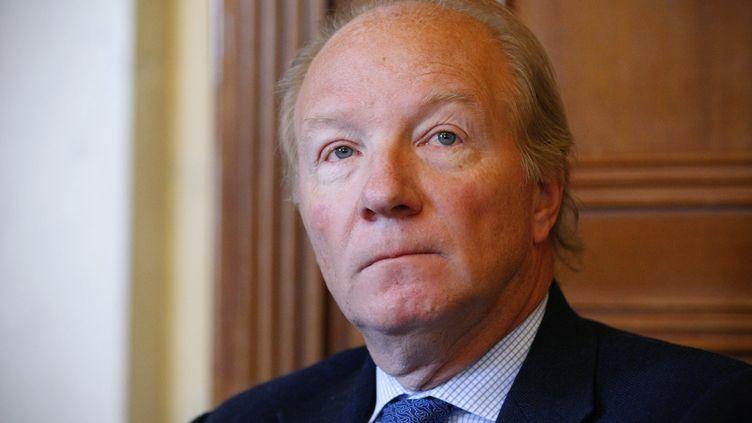 Brice Hortefeux, à l'Assemblée nationale, à Paris, le 8 février 2012. (THOMAS PADILLA / MAXPPP)