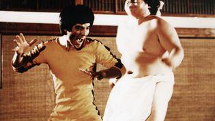 """Un extrait du """"Jeu de la mort"""" dernier film de Bruce Lee, tourné en 1972, mais sorti en 1978. (ARCHIVES DU 7EME ART / PHOTO12 / AFP)"""