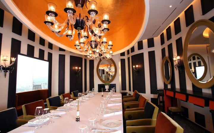 Le restaurant de Pierre Gagnaire à Séoul décoré par Olivier Gagnère  (Pierre Gagnaire)