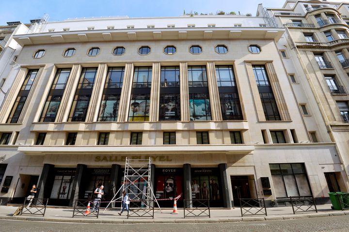 La salle Pleyel à Paris en septembre 2016. (BERTRAND GUAY / AFP)