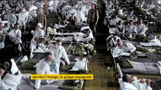 Des militaires atteints par la grippe espagnole (FRANCEINFO)