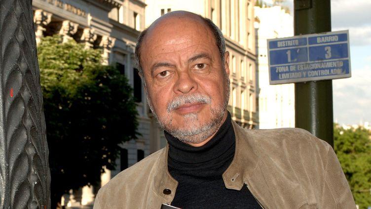 L'écrivain mexicain Antonio Sarabia à Madrid en 2005.  (ZIPI/EFE/Newscom/MaxPPP)
