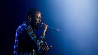 """Kendrick Lamar a sorti en ligne, ce vendredi, son nouvel album """"DAMN."""" (JOSE SENA GOULAO / LUSA)"""