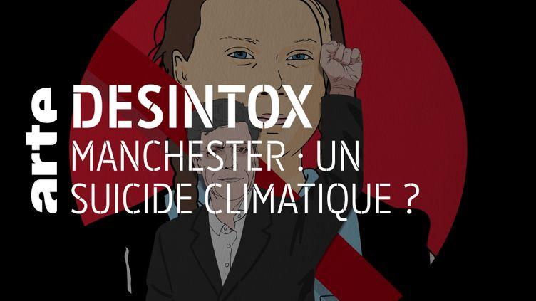 Désintox. Non, il n'y a pas eu de « suicide climatique » à Manchester (ARTE/LIBÉRATION/2P2L)