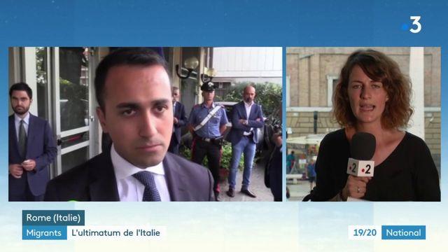 Migrants : les dessous de l'ultimatum de l'Italie