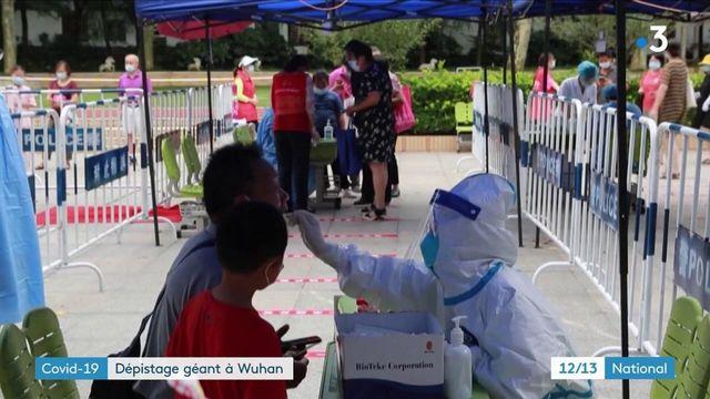 Chine : lancement d'une campagne de dépistage massive à Wuhan