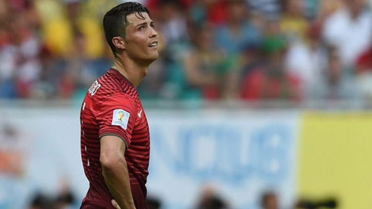 L'ailier portugais Cristiano Ronaldo n'a pas brillé pour son entrée en lice au Mondial