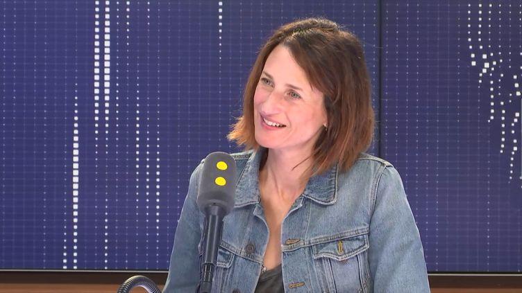 L'actrice Camille Cottin était l'invitée de franceinfo lundi 3 juin. (FRANCEINFO / RADIOFRANCE)