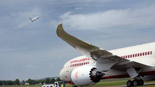 Un A380 sur le tarmac du Bourget, le 19 juin 2013. (ERIC FEFERBERG / AFP)