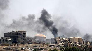 Les forces irakiennes progressent à Mossoul (Irak) où les civils sont en grand danger, selon l'ONU (KARIM SAHIB / AFP)