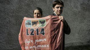 Sébastien Arsac est le co-fondateur de l'association L214. (JEFF PACHOUD / AFP)