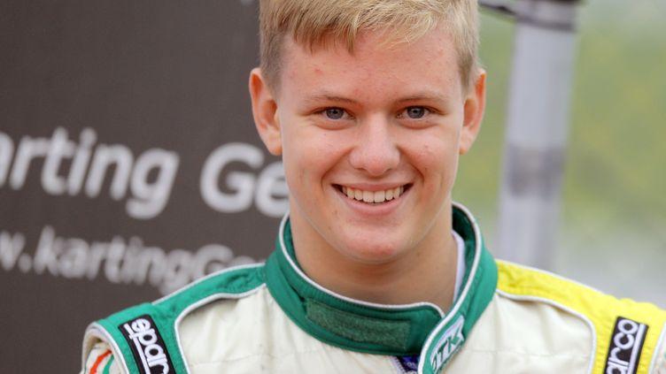 Mick Schumacher, fils du champion de F1 Michael Schumacher, le 5 octobre 2014 à Genk, en Belgique. (FREDRIK VON ERICHSEN / DPA)