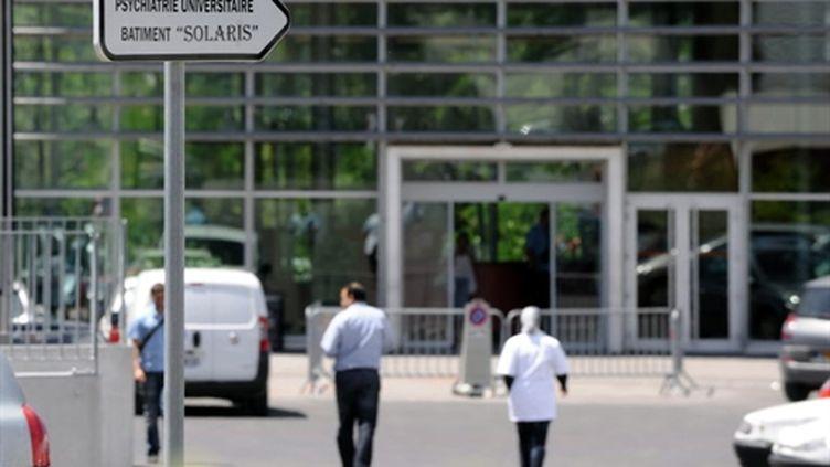 L'unité psychiatrique de l'hôpital Sainte-Marguerite de Marseille. (AFP)