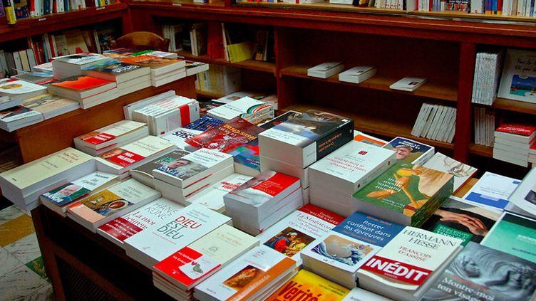 Dans une librairie  (Sébastien Jarry / MaxPPP)