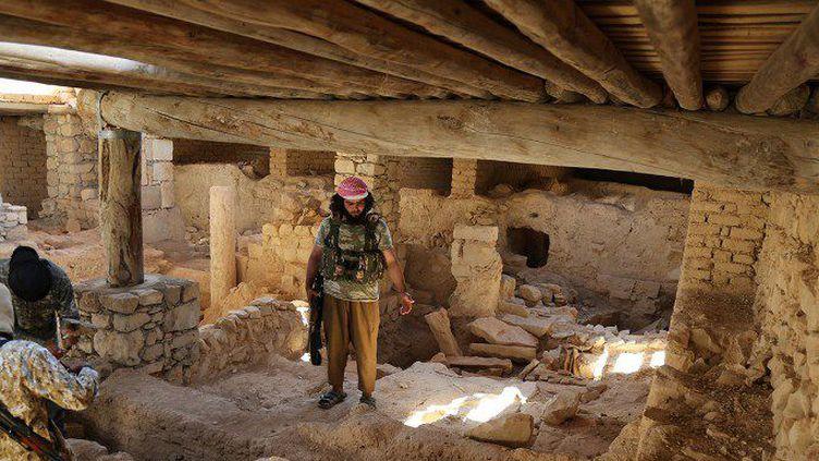 Les rudes conditions de vie découragent les djihadistes occidentaux. (WELAYAT DIMASHQ / AFP)