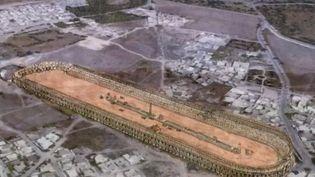 Le site antique de Carthage, en Tunisie, est de plus en plus menacé par les constructions de promoteurs peu scrupuleux. (France 2)