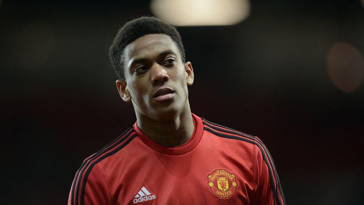 Anthony Martial n'a pu être aligné en Ligue Europa (OLI SCARFF / AFP)