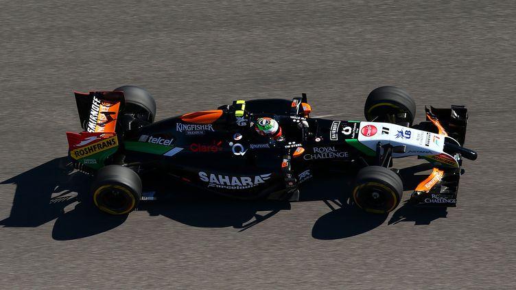 Sergio Perez (Force India) (MARK THOMPSON / GETTY IMAGES NORTH AMERICA)