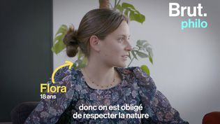 """VIDEO. """"Respecter la nature, est-ce se respecter soi-même ?"""" : un peu de philo avec Camille Tassel (BRUT)"""