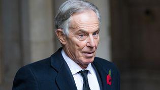 L'ancien Premier ministre britannique Tony Blair, le 8 novembre 2020. (VICKIE FLORES / EPA / MAXPPP)