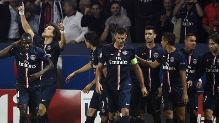David Luiz ouvre la marque face à Barcelone