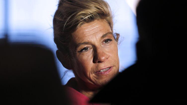 Frigide Barjot, opposante au mariage des homosexuels, à Paris, le 13 décembre 2013. (FRANCOIS GUILLOT / AFP)