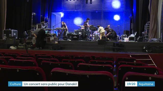 Le groupe de reggae Danakil en concert streaming depuis le théâtre Femina de Bordeaux