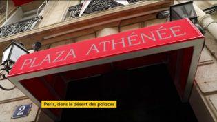 Le Plaza Athénée (FRANCEINFO)