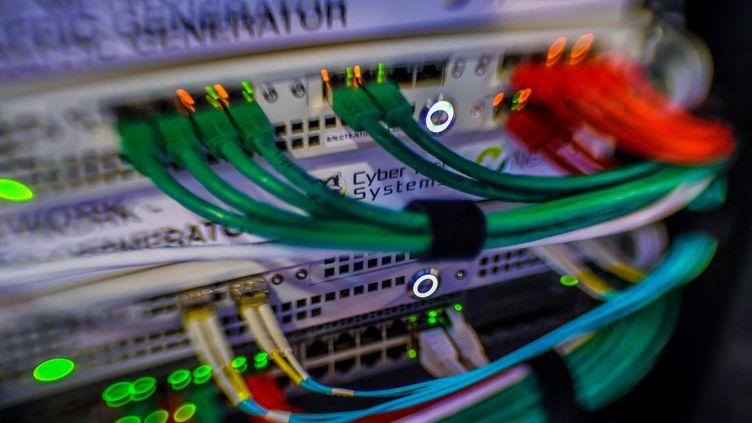 Des serveurs spécialisés dans la cybersécurité (illustration). (PHILIPPE HUGUEN / AFP)