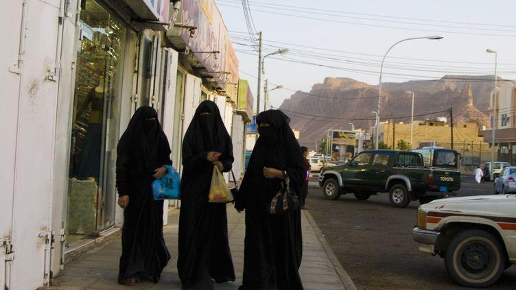 Des femmes saoudiennes se promènent à Al-Ula (Arabie saoudite). (DANITA DELIMONT / GALLO IMAGES / GETTY IMAGES )