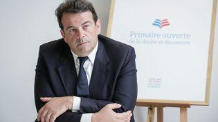 Thierry Solère, député Les Républicains des Hauts-de-Seine et président du comité d'organisation de la primaire (THOMAS PADILLA / MAXPPP)