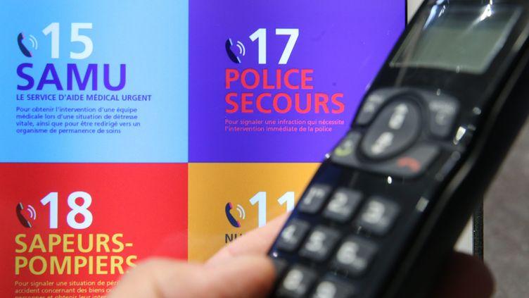 Une panne géante a affecté les numéros d'urgence dans plusieurs départements en France, dans la nuit du 2 au 3 juin. (JEAN-FRAN?OIS FREY / MAXPPP)