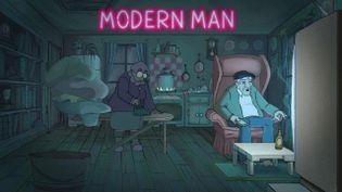 """Modern Man"" de Victoria Grenier (CAPTURE D'ÉCRAN FRANCE 3)"