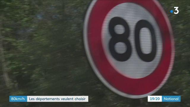 80 km/h : les départements veulent choisir