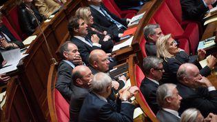 Les députés durant la séance de questions au gouvernement à l'Assemblée nationale, le 3 juin 2014. (MAXPPP)