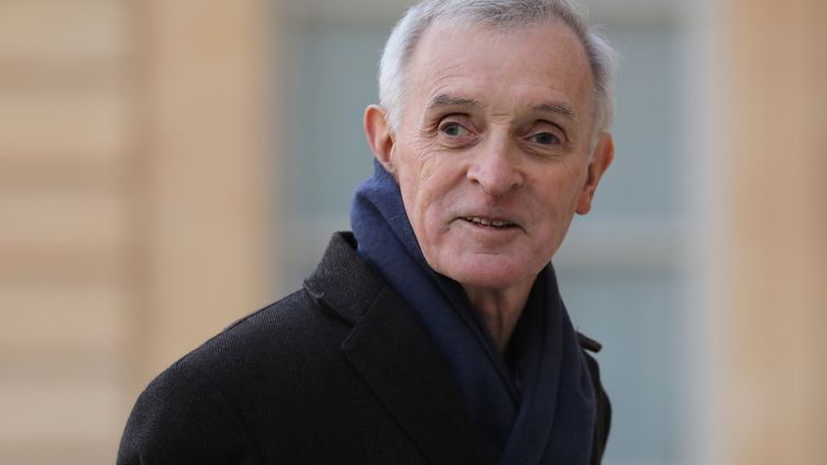 Le climatologue Jean Jouzel, le 19 mars 2019. (LUDOVIC MARIN / AFP)