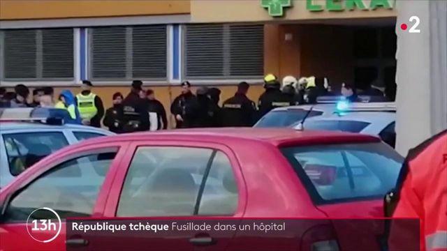 République tchèque : un tireur tue six personnes dans un hôpital et se suicide