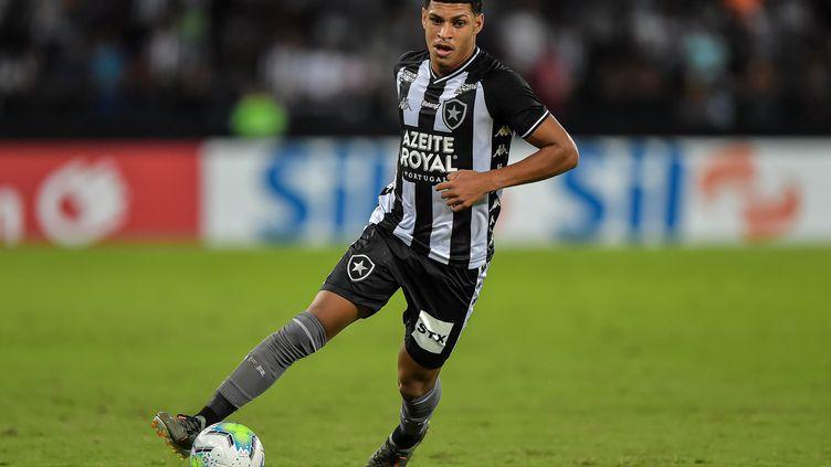 Luis Henrique arrive à l'OM en provenance du club brésilien de Botafogo (THIAGO RIBEIRO / AGIF)