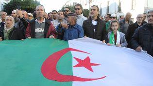 Manifestation du Hirak contre le pouvoir à Alger le 24 décembre 2019. Photo d'illustration. (ADEL SEHREI/WOSTOK PRESS / MAXPPP)