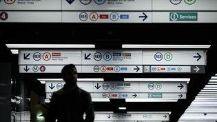 Cinq lignes du métro parisien seront totalement fermées jeudi 26 décembre. (PHILIPPE LOPEZ / AFP)