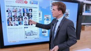 """Capture d'écran du """"Kiosque à journaux"""" du mardi 7 juillet (France 2)"""