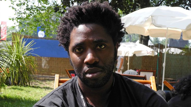 Kele Okereke, chanteur de Bloc Party à Beauregard  (Clément Martel / Culturebox)