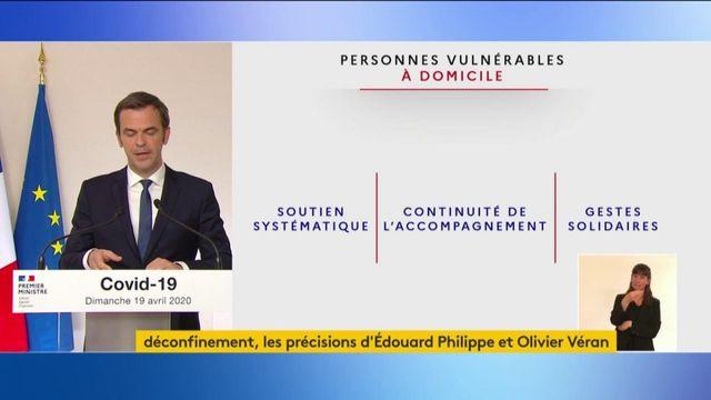 """Olivier Véran annonce un """"droit de visite"""" en Ehpad ou dans les établissements accueillant des personnes handicapées"""